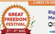Amazon Great Freedom Festival sale will start from August 5! Shop from phone to laptop at huge discount